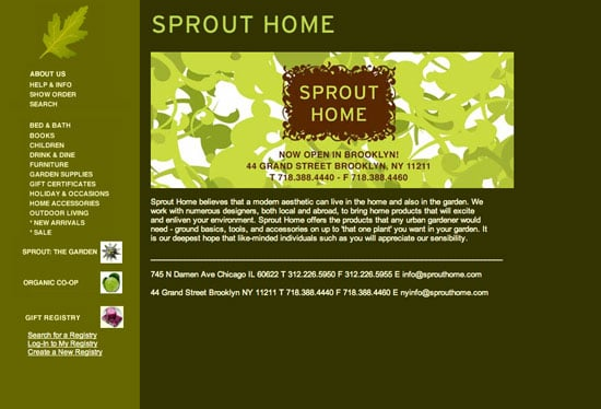 Fab Site: Sprout Home