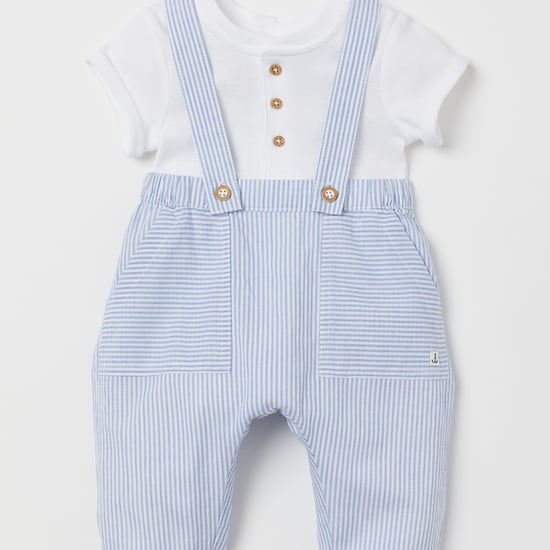 Baby Archie's H&M Baby Overalls at Royal Tour 2019