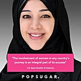 "Du ""The involvement of women any country's journey is an integral part of its success"" @Reem_Al_Hashimi @Womens_Forum"