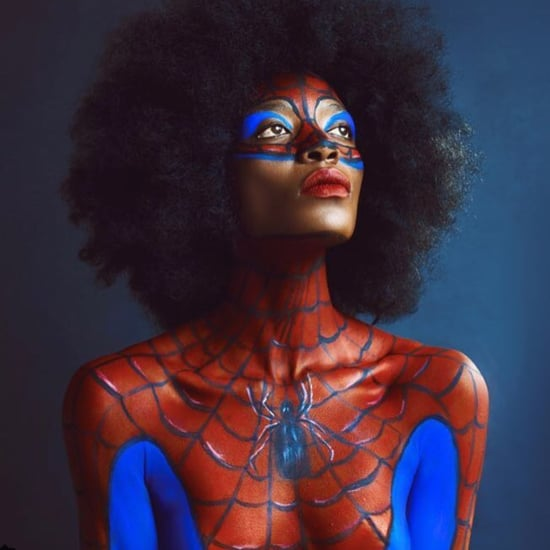 Spider-Woman Makeup Ideas