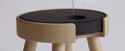 Heated Stool For Winter