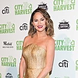 Chrissy Teigen's Wavy Bob Haircut in 2017