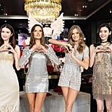 Angels Sui He, Alessandra Ambrosio, Josephine Skriver, and Ming Xi Attended