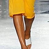 Rejina Pyo Shoes on the Runway at London Fashion Week