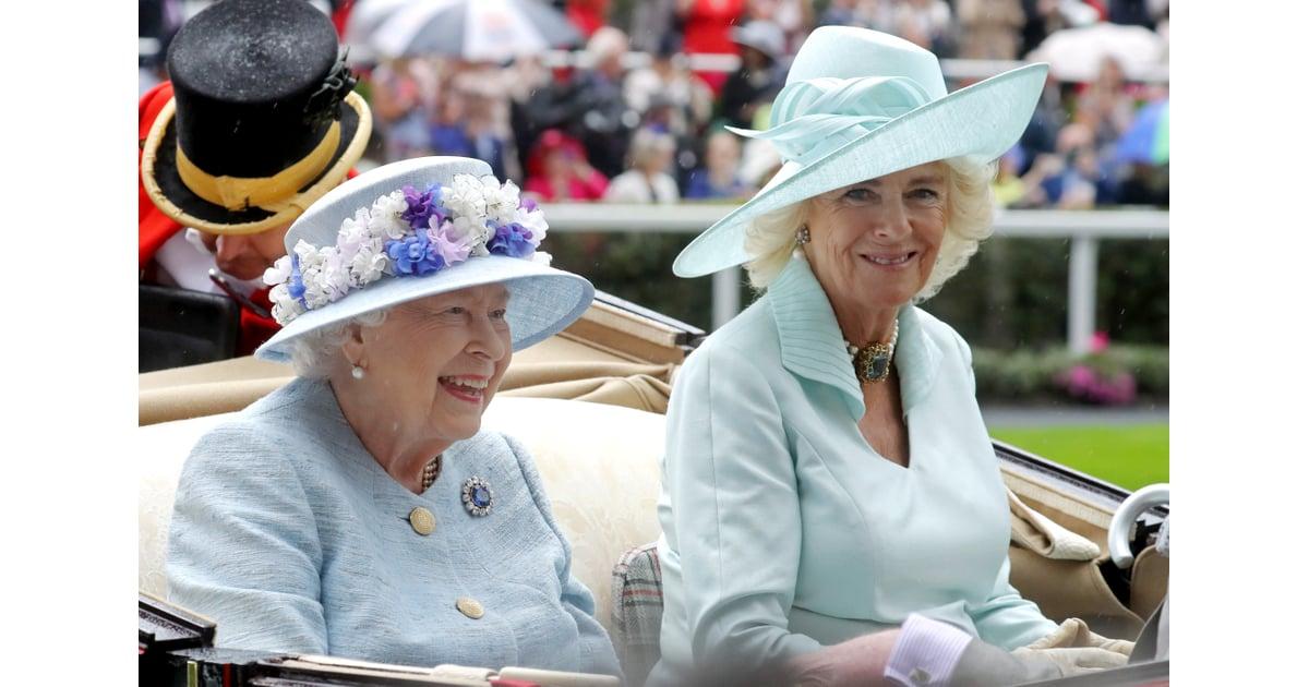 fff73e4af Queen Elizabeth II and Camilla, Duchess of Cornwall | The Royal ...