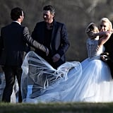 Gwen Stefani and Blake Shelton Take On a Tennessee Wedding Together