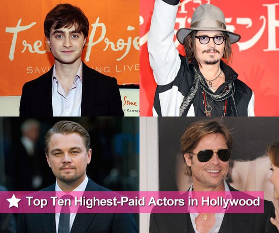 Forbes magazine names the Highest Paid Actors in Hollywood for 2010 — check out the top ten!