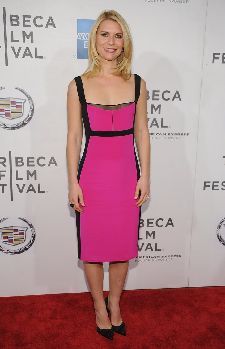 10 Kitchen And Home Decor Items Every 20 Something Needs: Claire Danes Wore A Bold Pink Narciso Rodriguez Number To