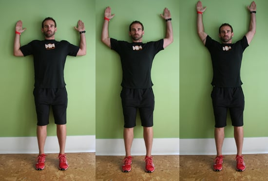 how to stand up straight with shoulders back