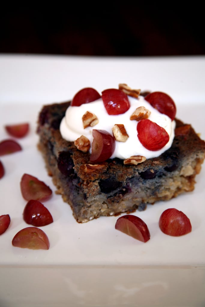 Blueberry Grape Barley Bake