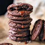 Salted Caramel-Stuffed Chocolate Cookies