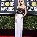Margot Robbie at the 2020 Golden Globes