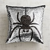 Pier 1 Imports Spider & Bat Reversible Sequined Mermaid Pillow