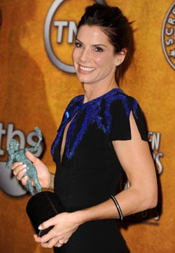 Interview with Sandra Bullock from the 2010 Screen Actors Guild Awards Press Room