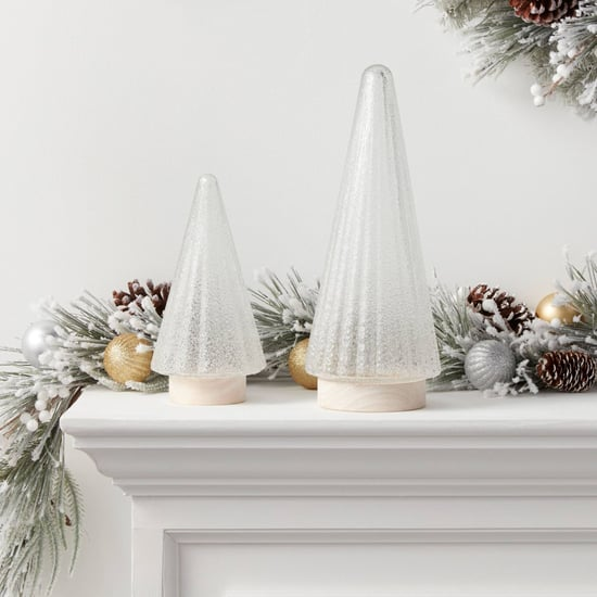Target's Modern Glass Christmas Trees Decorations