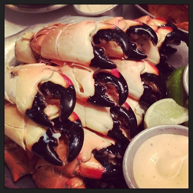 An Obligatory Joe's Stone Crab Visit
