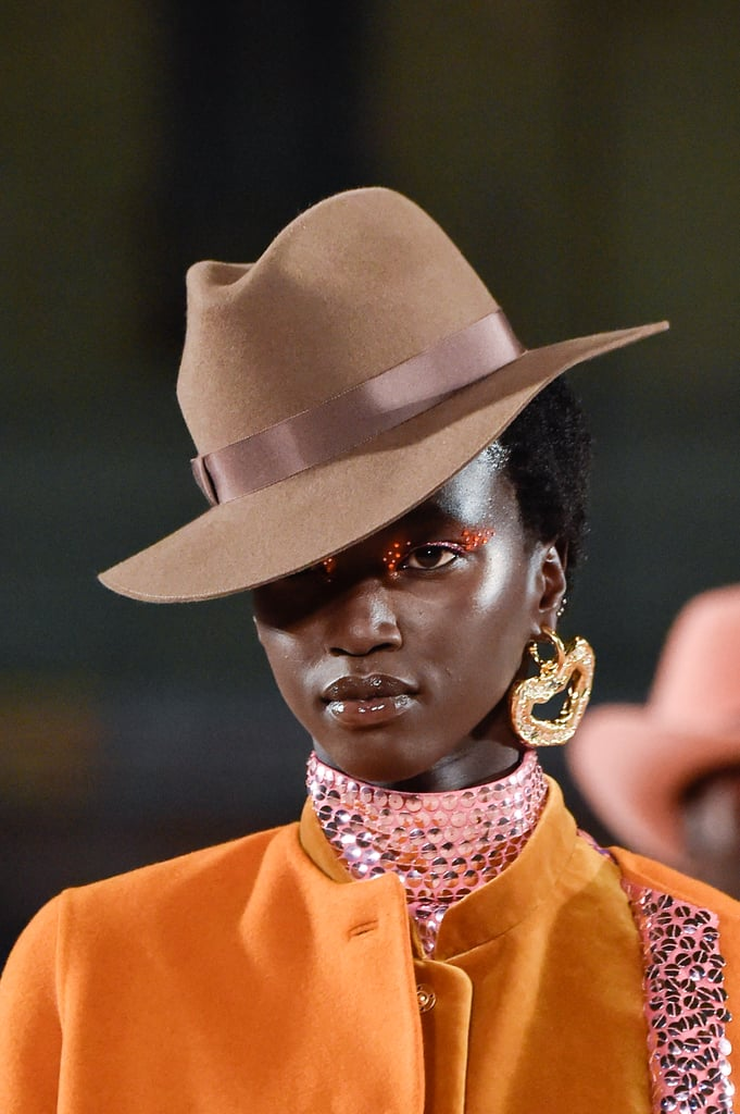 A Hat on the Marc Jacobs Runway During New York Fashion Week