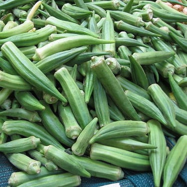 Cooking Okra
