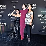 Alexa Demie, Hunter Schafer, and Zendaya at the InStyle Awards 2019