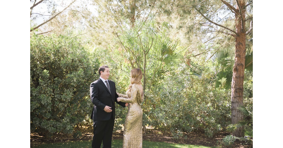 desert backyard wedding popsugar love sex photo 17