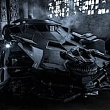 Snyder shared a picture of the Batmobile, following leaked Instagram photos of the vehicle.