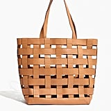 Madewell The Medium Transport Tote Basketweave Edition