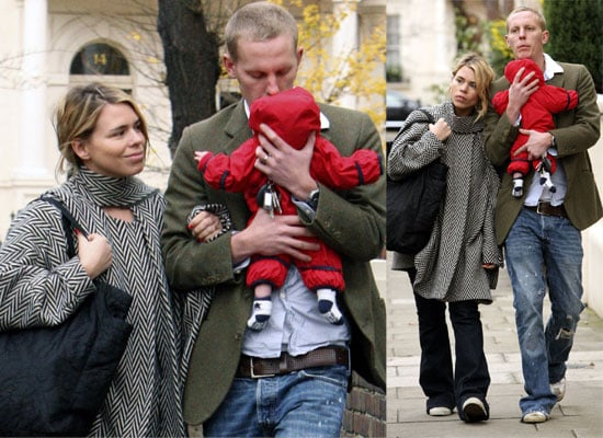 16/12/08 Billie Piper and Laurence Fox