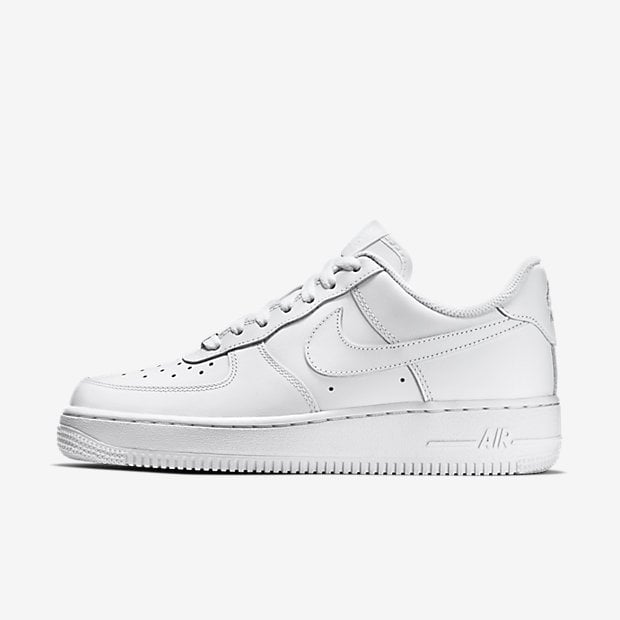 Nike Air Force 1 croc effect leather sneakers ($115