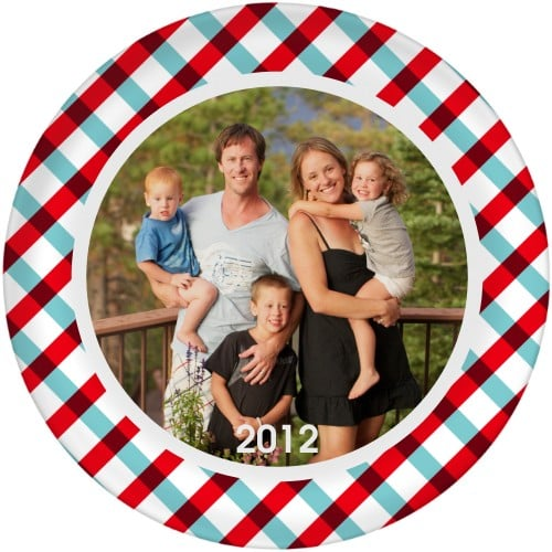 Shutterfly's melamine photo plates ($20) make dinnertime so much fun (and they're dishwasher-safe — yay for that!).