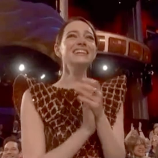 Emma Stone's Reaction to Olivia Colman's Oscars Win 2019