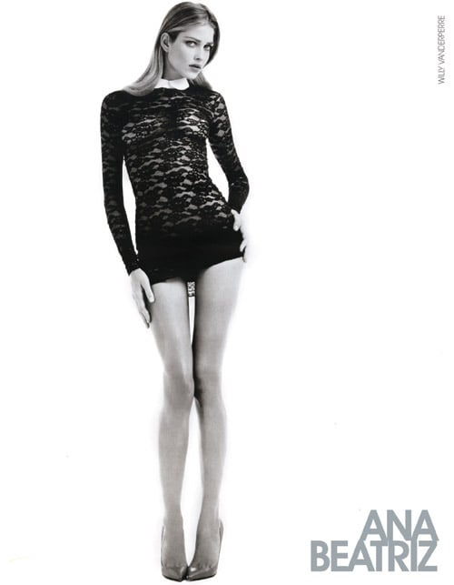 Ana Beatriz Barros's Spring 2011 showcard