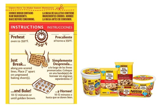 Nestle Toll House Recalls Cookie Dough