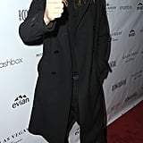 Jared Leto gave his party with Los Angeles Confidential a thumbs-up on Friday.