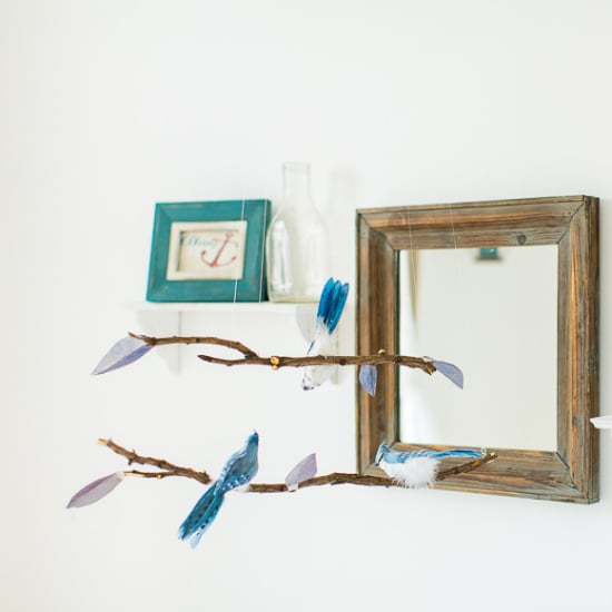 DIY:  Handsewn Bird Mobile