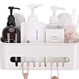 Vacuum Shower Caddy Removable Bathroom Shelf