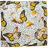 Deseda Monarchs + Milkweed Scarf