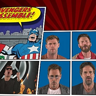 "Avengers Cast ""We Didn't Start the Fire"" Tonight Show Video"