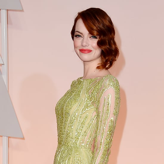 Emma Stone's Hair and Makeup at the Oscars 2015