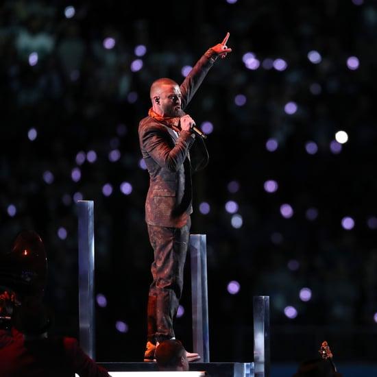Justin Timberlake Super Bowl 2018 Performance