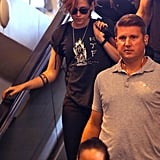 Kristen Stewart With Short Hair at LAX | July 2014