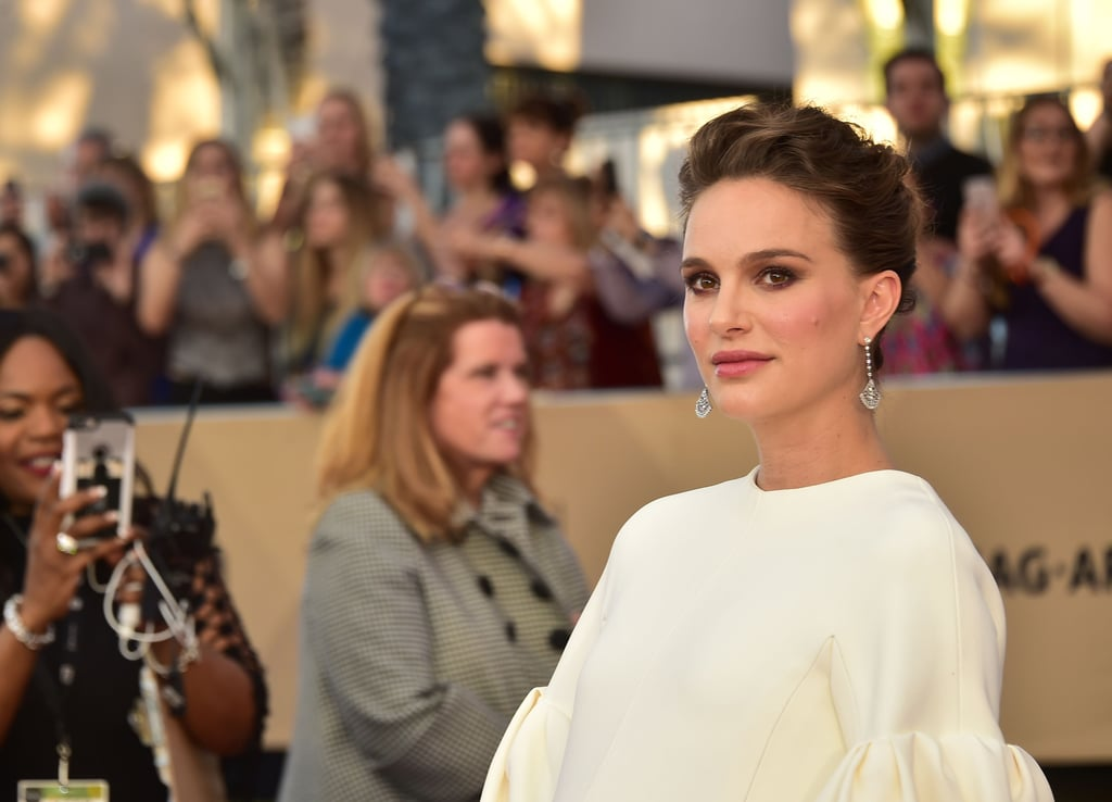When Natalie Portman took the red carpet at the 2017 SAG Awards, we couldn't take our eyes off her effortlessly chic gown. But a closer look revealed that her makeup looked utterly flawless, and we couldn't resist finding our how she landed such a glowing look. It turns out the secret to the actress's radiant makeup was a silicone applicator called MakeupDrop. Silicone beauty sponges like the Silisponge and its glittery counterpart, Evie Blender, are taking the makeup world by storm, and we're hardcore advocates. These nifty tools seamlessly apply foundation without absorbing any of the product like regular sponges do, so you can use, clean, and reuse the tool in a matter of seconds.  This is the first time we've heard of this unique tool being used to prep celebrities for the red carpet, which just gives us more proof that they're deserving of all the praise they get. To achieve Natalie's perfectly blended look, makeup artist Pati Dubroff started with a light primer and used the MakeupDrop (£26 plus shipping) to apply two different shades of foundation — a lighter one on the centre of Natalie's face and a darker shade on her cheeks. Then Dubroff used the droplet-shaped silicone blender to smooth on a rose-hued cream blush to the apples of her cheeks, blending outward. The results were picture-perfect, and we can't wait to steal Dubroff's tactic for our everyday routine.  Keep reading to see the MakeupDrop in action, followed by snapshots of Natalie owning the SAG Awards red carpet in style.      Related:                                                                                                           Zoom In on All the Stunning Beauty Style From the 2017 SAG Awards