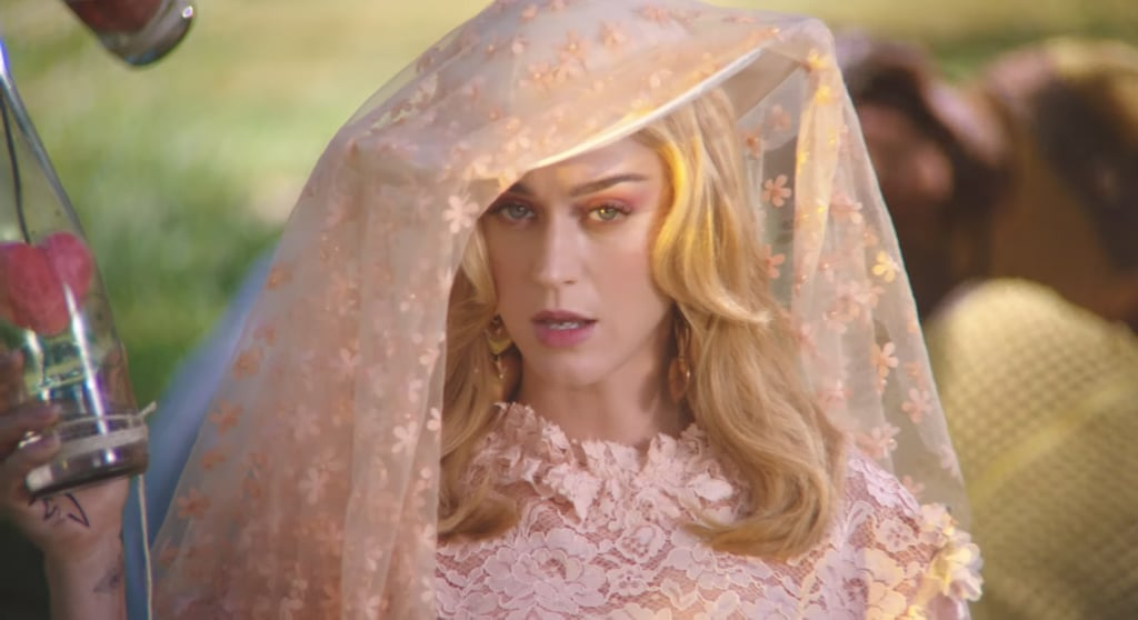 """Katy Perry's Pink Makeup in the """"Never Really Over"""" Music Video"""