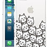 Skinny Dip Cat Faces Iphone 7 Case ($20)