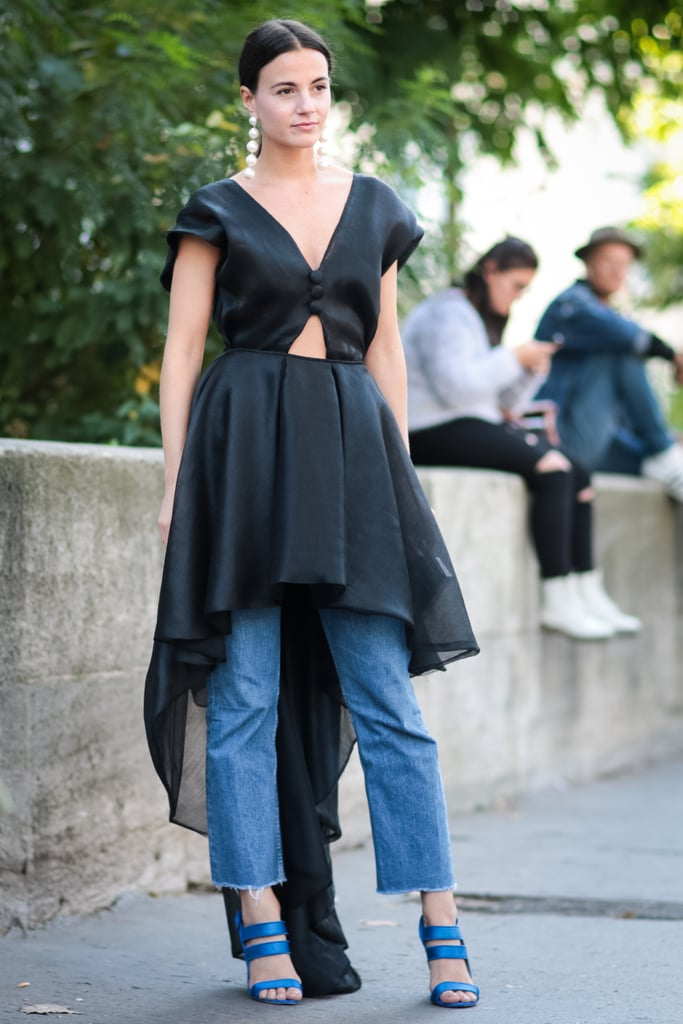 Go All Out Glam With A Dress Layered Right On Top Of Your