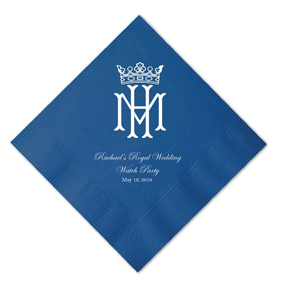 Royal Wedding Watch Party Napkins
