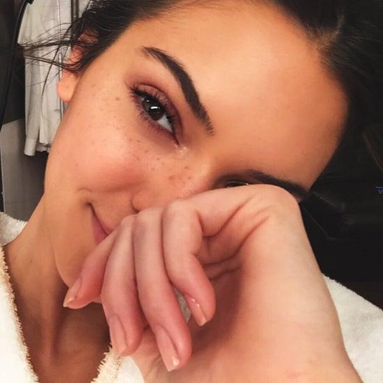 Kardashian Makeup-Free Selfies