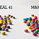 Unreal 41 Candy Coated Chocolates vs. M&M's