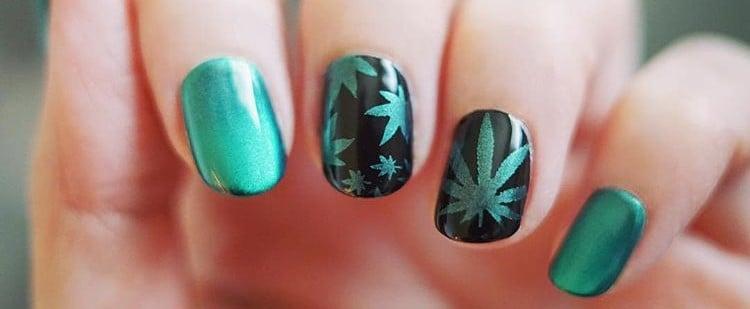 Weed Nail Art Ideas
