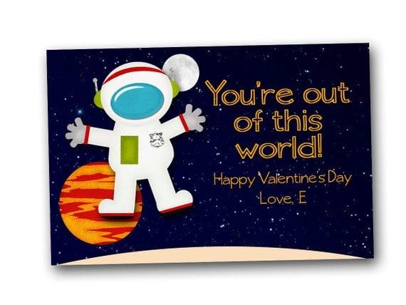 Astronaut Valentine