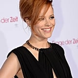 Rachel McAdams posed for the cameras while walking the red carpet.